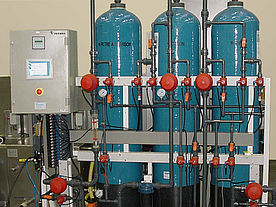 Auxiliary equipment for water treatment/Demineralizing systems