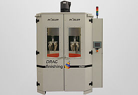Drag Finisher R4/1300 with usable diameter of the work bowl of 1300 mm