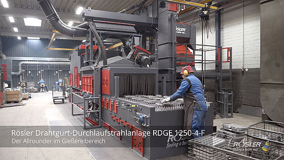 Wire mesh belt machine RDGE 1250 F